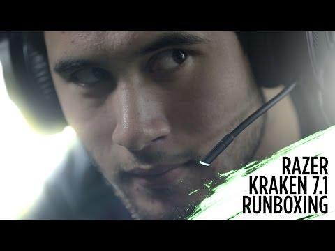 Razer Kraken 7.1 rUnboxing Virtual 7.1 Surround Sound USB Gaming Headset