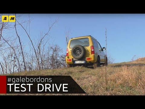 Suzuki Jimny Shinsei   Test drive off-road cercando di ribaltarla