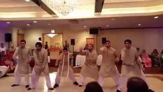 The Mujtaboys - Best Mehndi Dance 2015 (Keren & Maaz)
