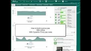 Create a dynamic proxy.pac/WPAD with Artica