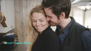 Once Upon A Time 6x18 Emma Hook Pancakes & Kisses - Am I interrupting something  Season 6 Episode 18