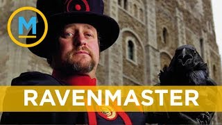 There's a guy who lives in the Tower of London just to care for the ravens | Your Morning