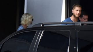 Taylor Swift and Calvin Harris Kiss in Photos From Just Weeks Ago