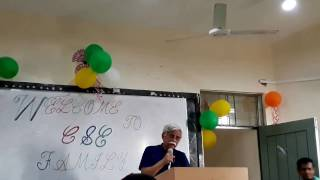 Motivational speech by Md. Zafar Iqbal Sir
