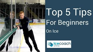 Learn How to Ice Skate - Top 5 Tips for Beginners!
