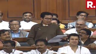 Ladakh MP Jamyang Tsering Namgyal Exposes Congress Over Article 370 In The Lok Sabha