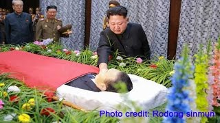 North Korea chief Kim Jong-un gets emotional over closest comrade's death