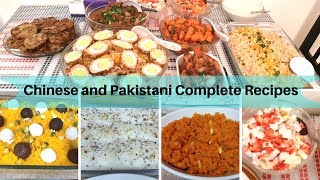 Dinner Party for my Brother-in-Law - 11 Guests 10 Dishes - Full Recipes