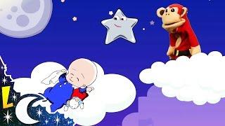 A Dormir mi Bebito   Canciones de Cuna con El Mono Sílabo   Música para Dormir Bebés #