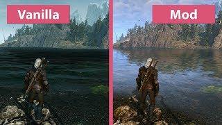The Witcher 3 – Maximum 4K Graphics 2017 vs. Vanilla Mod Comparison