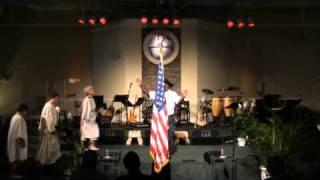 Drama skit  to Ray Boltz  I Pledge Allegiance To The Lamb