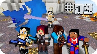 Elyas quiere probar lo duro ( ͡° ͜ʖ ͡°) - Lady Boss, Sylkeka y Elyas - Lucky Blocks 09 Minecraft