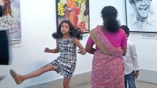 Surya - Jyothika's Children Diya & Dev Playing | Unseen Video