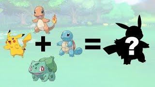 Animation #1: Pikachu + Starters Gen 1 | Pokemon Fusion