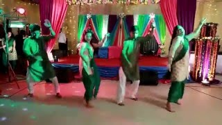 Ishika Khan and   Shouvik  Mumtaheena Chowdhury Toya holud dance mp4