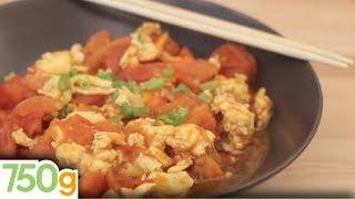 Recette de Sauté oeufs-tomates à la chinoise - 750 Grammes