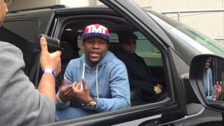 Floyd Mayweather message to Ronda Rousey - esnews boxing ufc mma