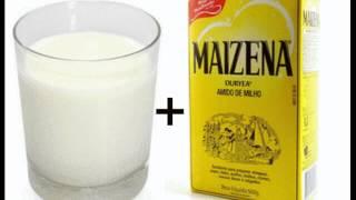 Alisamento Caseiro Cabelo Masculino - Maizena e Leite