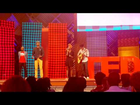 ACH13NG and MUFASA  perfomance at TED IDEAS Search Nairobi