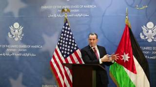 """أميركا تدعم الأردن بتحقيقه في حادث الجفر .. وبريت """"لن يقف شيء بيننا""""."""