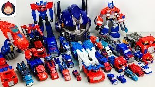 Red Color Transformers 30 Vehicle Transformation Robot Car Optimus Prime Toys