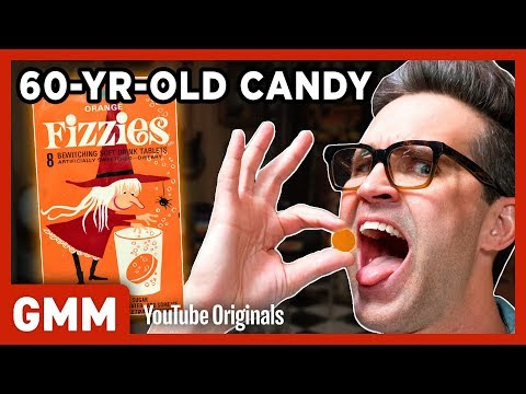 60 Year Old Candy Taste Test