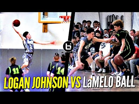 Logan Johnson vs. LaMelo Ball Lopsided Game Gets Heated
