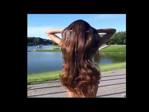 sexiest girl with very beautifull long hair
