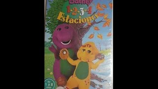 "Barney: 1-2-3-4 Estaciones | ""1-2-3-4 Seasons"" (Spanish)"