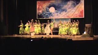 Taj Mahal dance  by Sauparnika(  Jerin,Jasmine and group) Doli Saja Ke Rakhna