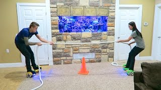 RIDICULOUS HOVERBOARD CHALLENGE!!!