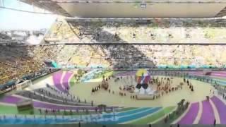 FIFA World Cup 2014 Brazil Opening Ceremony Pitbull & Jennifer Lopez