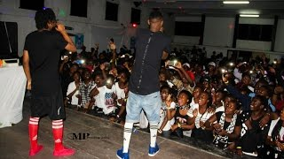 Hernâni e Slim Nigga actuam em Inhambane, show Pontas De Lança