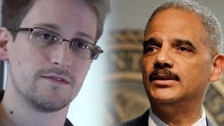 Eric Holder Gives Snowden Props For Performing A 'Public Service'