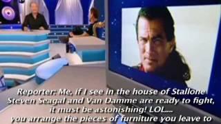 VAN DAMME vs SEAGAL - The True Story (Interview) - The Original Video