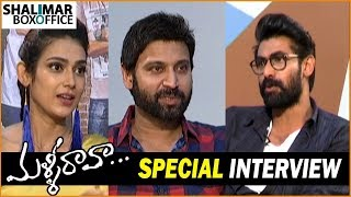 Malli Raava Movie Team Interviewed by Rana Daggubati || Sumanth, Aakanksha Singh