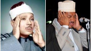 Qari Abdurrahman Sadien mimicking Qari Abdulbasit Abdussamed