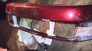 How to make fiberglass bumper