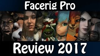 FaceRig Pro Review & Introduction 2017