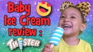 Kid Ice Cream Review | Paddle Pop Twister | by New Kids On The Vlog