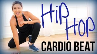 Hip Hop Fat Burn // CARDIO BEAT (At Home No Jumping Cardio)
