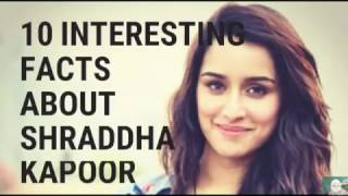 10 interesting facts about Shraddha Kapoor