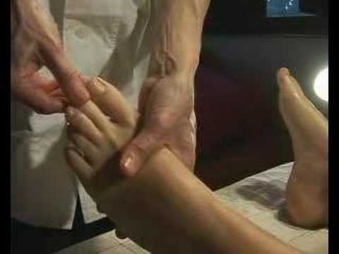 masaje relajante pies
