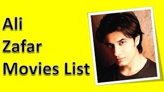 Ali Zafar Movies List