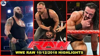 WWE Monday Night Raw- December 10, 2018 Highlights Preview | Raw 10/12/2018 Highlights