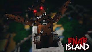 Minecraft - FNAF ISLAND #3 DESERTED ISLAND! (Five nights at freddy