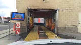 Automatic Soft-touch Car Wash Start to Finish.  Kids Car Wash