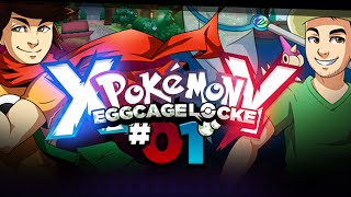 Pokémon XY Egglocke Cagelocke w/ MunchingOrange and aDrive - EP01 -