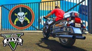 GTA V Online: A MOTO da POLÍCIA!!! (A CORRIDA com 10 MOTOS)!!!