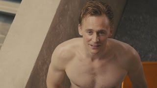 Tom Hiddleston Gets Caught Tanning Naked in 'High-Rise'